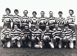 Peter Bewsey founded and Captained Farnham Rugby Club